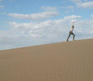 marissa in sand